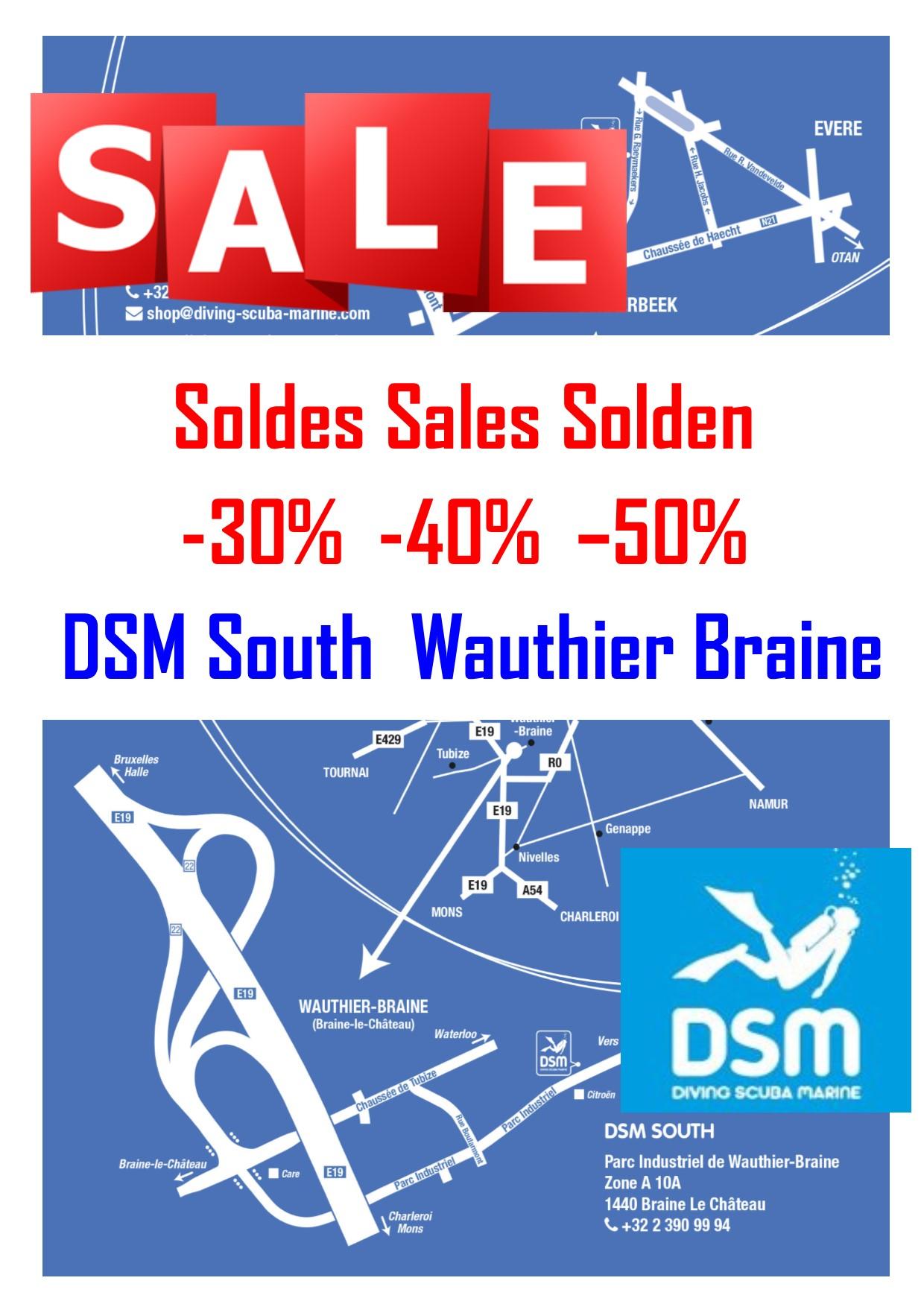 DSM SALES SOLDES SOLDEN